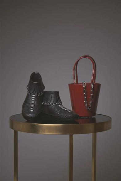 Mocassin Boots: Alexander Wang Bag:Alexander Wang - Al Ostoura Thuraya Mall, Al Ostoura The Avenues