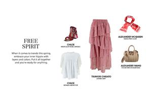 Get the look: Free Spirit