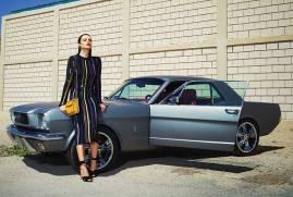 DRESS: Nina Ricci - Al Ostoura Thuraya Mall SHOES: Nicholas Kirkwood - Al Ostoura Thuraya Mall, Al Ostoura The Avenues BAG: Marni - Thuraya Mall EARRINGS: Vintage Chanel - What Goes Around Comes Around Thuraya Mall