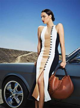 DRESS: David Koma - Al Ostoura Mezzanine Thuraya Mall BAG: Loewe - Al Ostoura Thuraya Mall Al Ostoura The Avenues