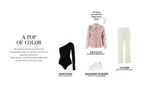 Get the look: A Pop of Color