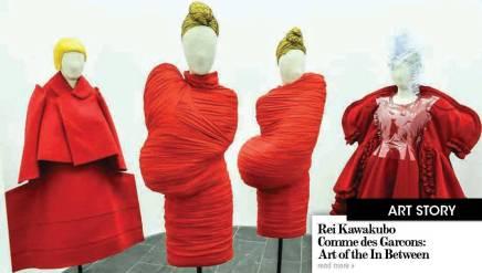 ReiKawakubo / Comme des Garcons Art of the InBetween