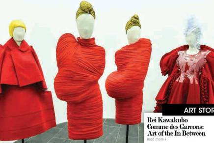 ReiKawakubo / Comme des Garcons Art of the In Between