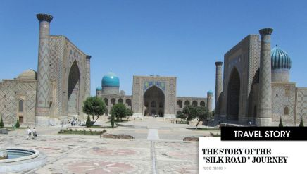"The story of the "" Silk Road "" Journey"