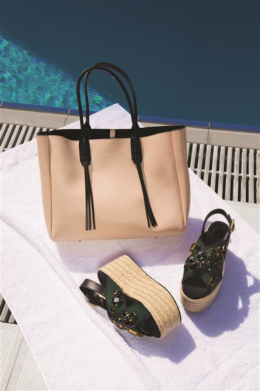 BAG: LANVIN - THURAYA MALL SANDALS: MARNI - THURAYA MALL, THE AVENUES