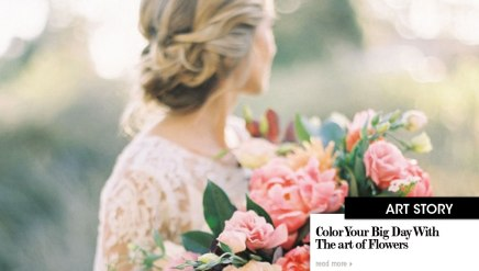 Color Your Big Day With The art of Flowers