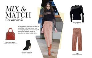 Get the look: Mix & Match