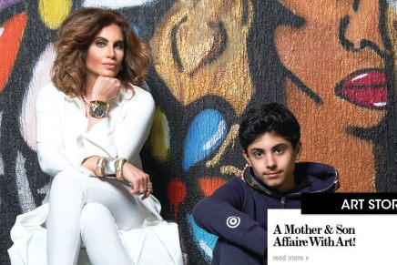A Mother & Son affair with Art!