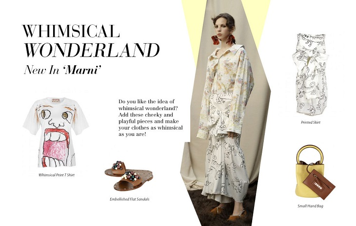 Whimsical wonderland New In Marni